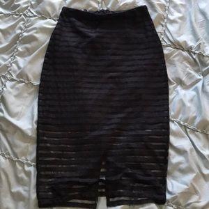 Beautiful black skirt.